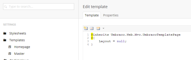 How to create a master layout in umbraco jon d jones.