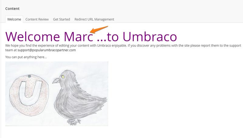 Creating A Custom Dashboard, Tutorials - Our Umbraco