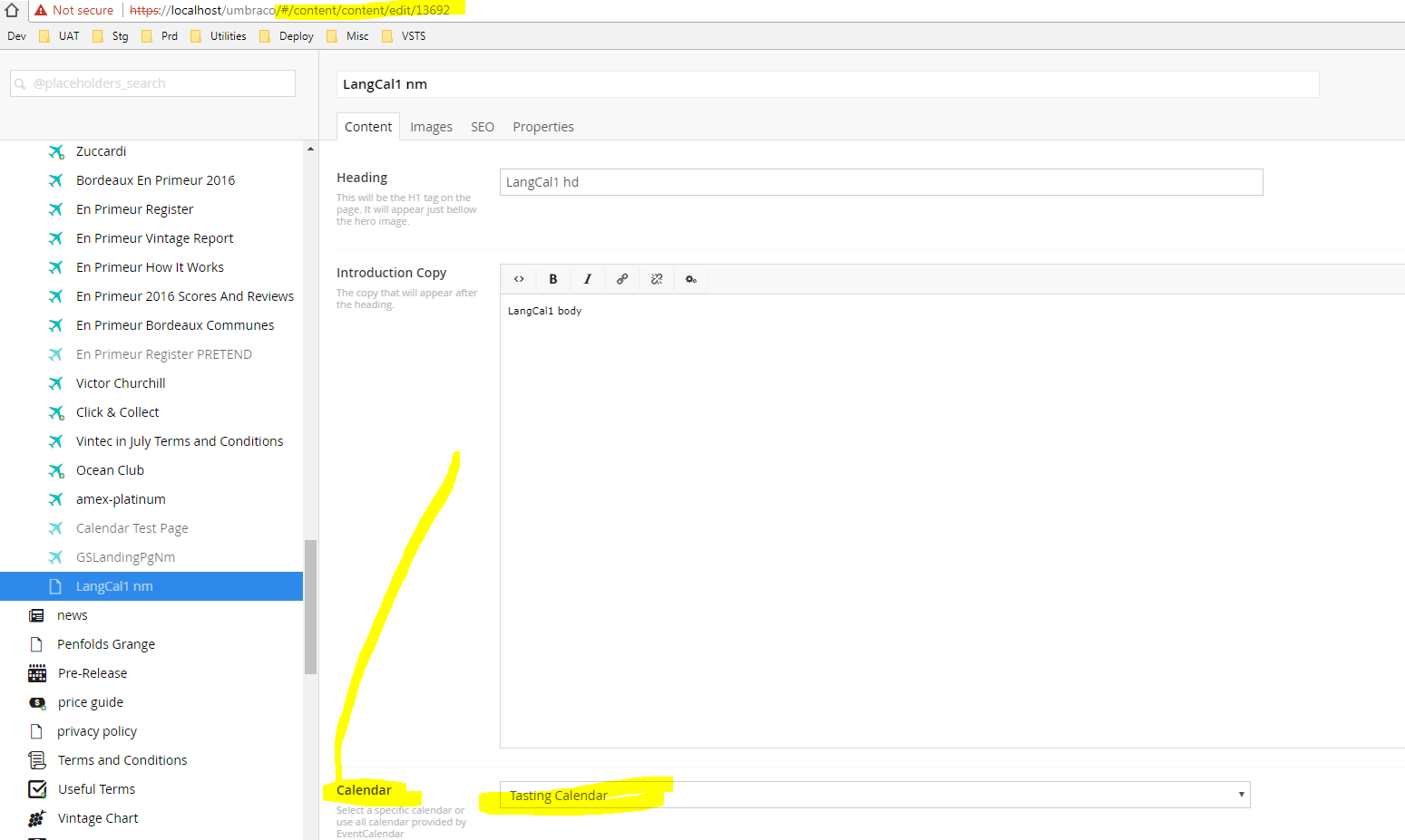 how to integrate event calendar inside custom website
