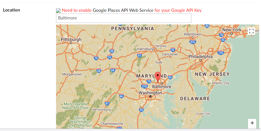 Google Map Search Functionalities Not Working Bugs Questions