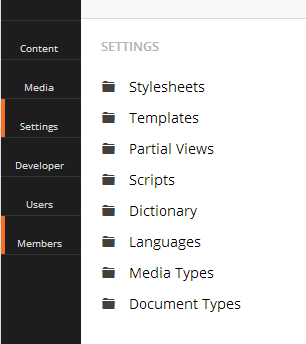 v7 tree icons not showing up - Using Umbraco 7 - our umbraco com