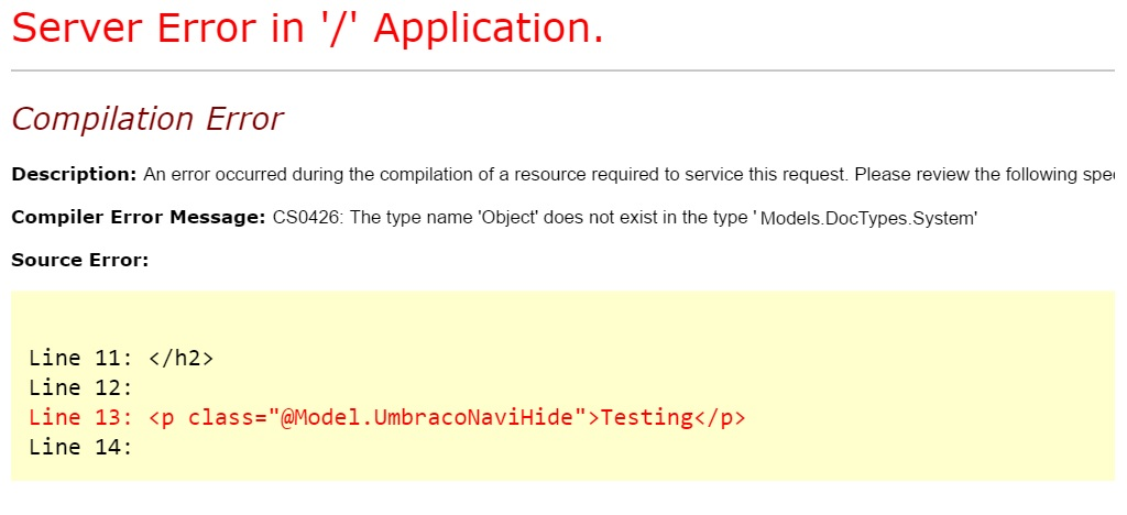 issues with zbumodelsbuilder - Anything - our umbraco com