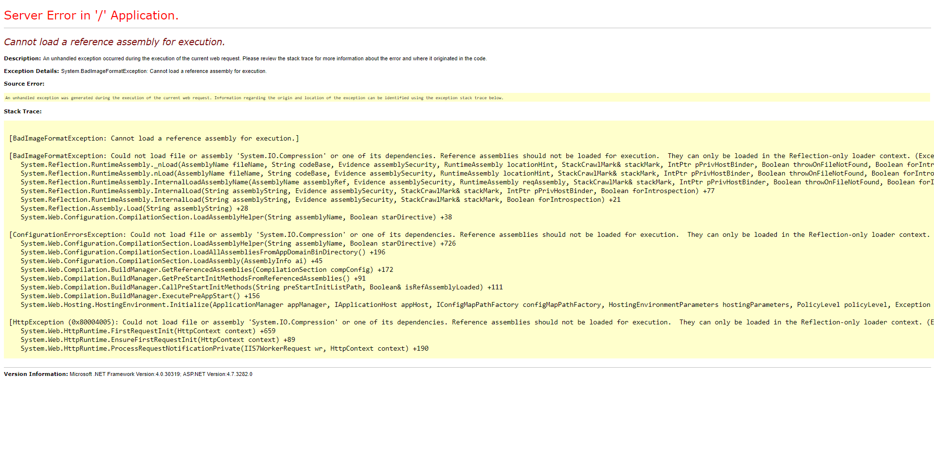error running fresh v8 install - Umbraco 8 - our umbraco com