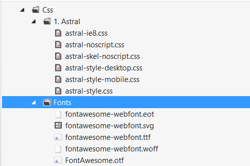 font face not working - UI Questions - our umbraco com