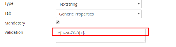 do not allow to enter special character in textbox field - Umbraco