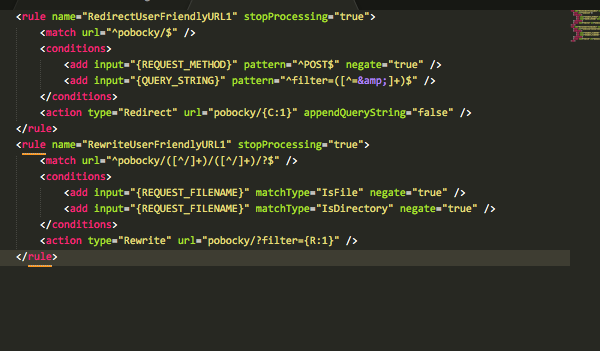 query string to url structure - Extending Umbraco and using the API
