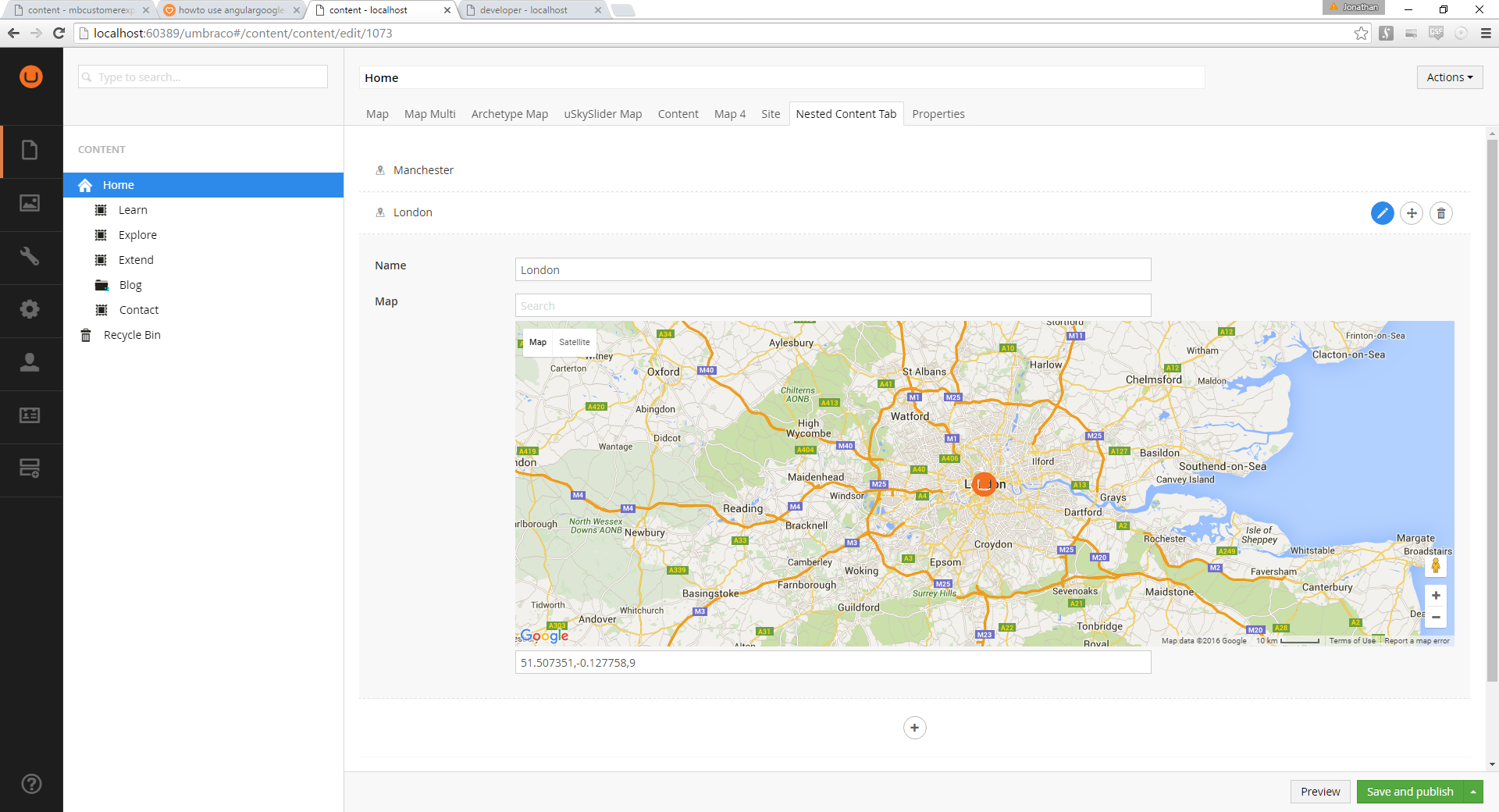howto use angulargooglemaps with a google api key - Bugs - our