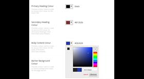 Spectrum Colour Picker