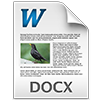 Import MS Word document