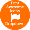 FontAwesome Icons Dropdown