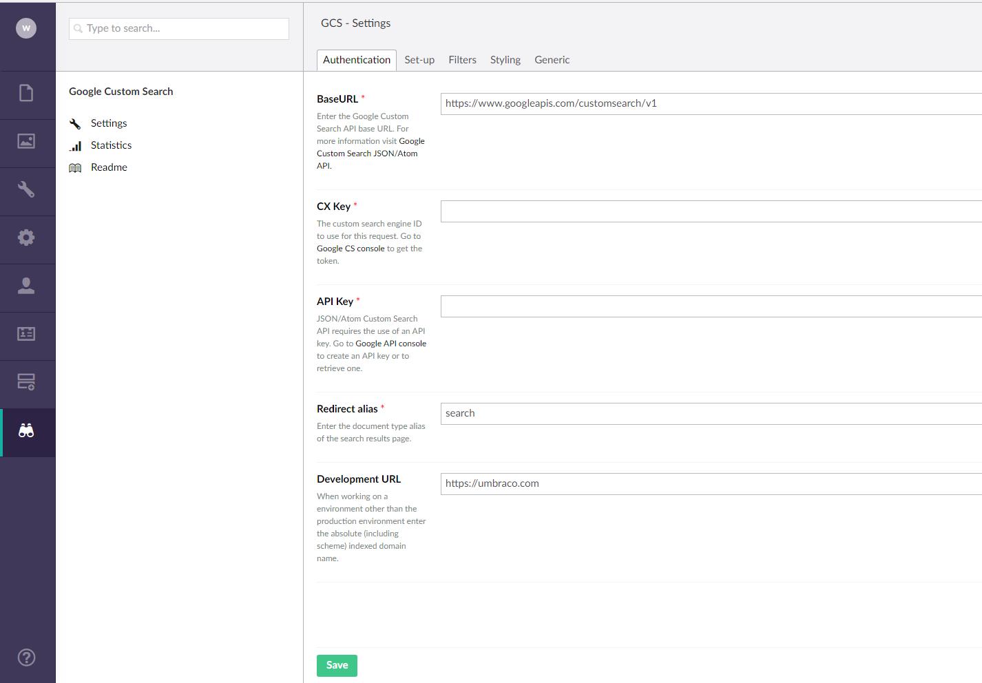 W3S Google Custom Search - our umbraco com