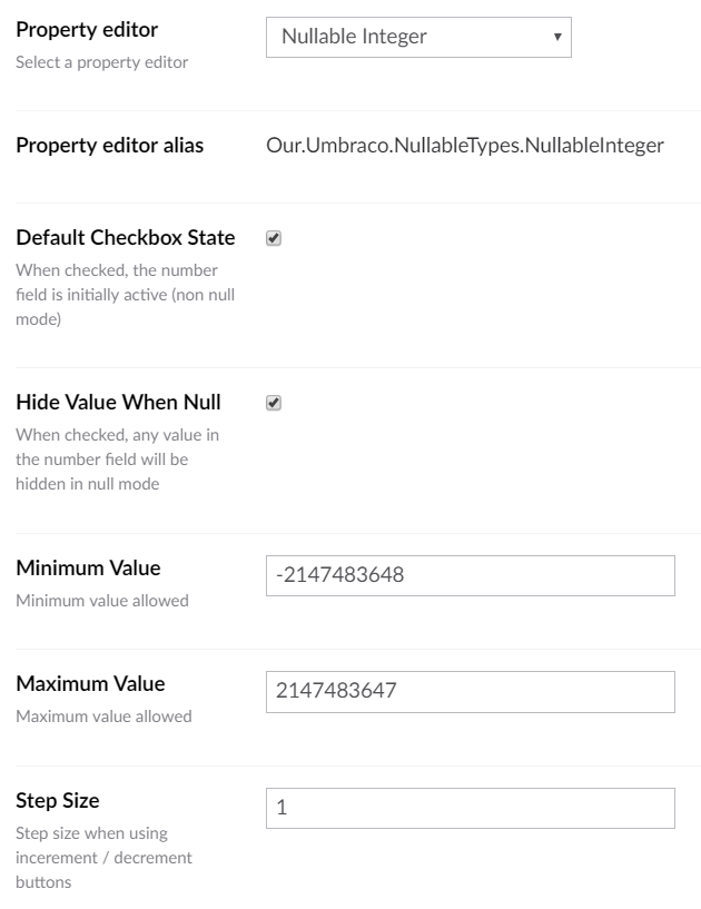 Nullable Types - our umbraco com